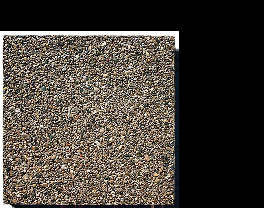 Pea gravel 50x50x4