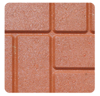 Brick Pattern Red