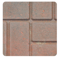 Brick Pattern Red Range