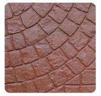 Cobble Pattern Range Red